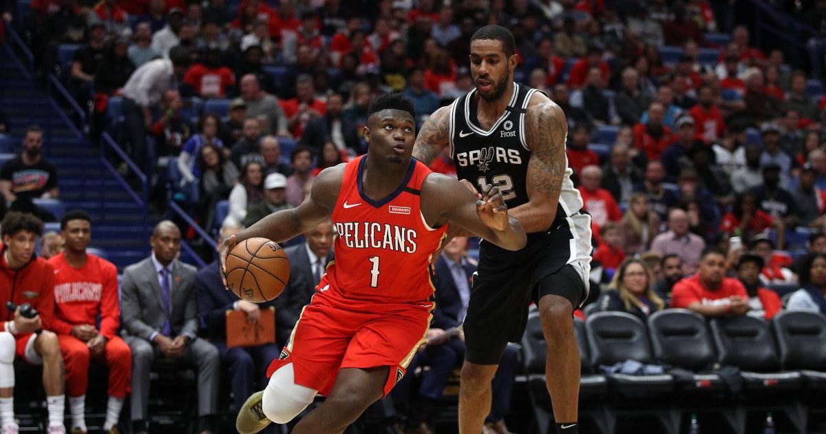 Zion Williamson gibt fans, was Sie wollen während der NBA-Debüt