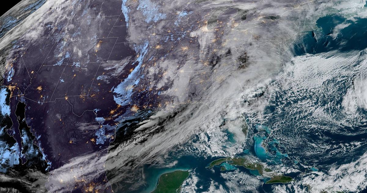Χειμερινή καταιγίδα βαδίζει Ανατολικά, δημιουργώντας ταξίδια πονοκεφάλους για εκατομμύρια
