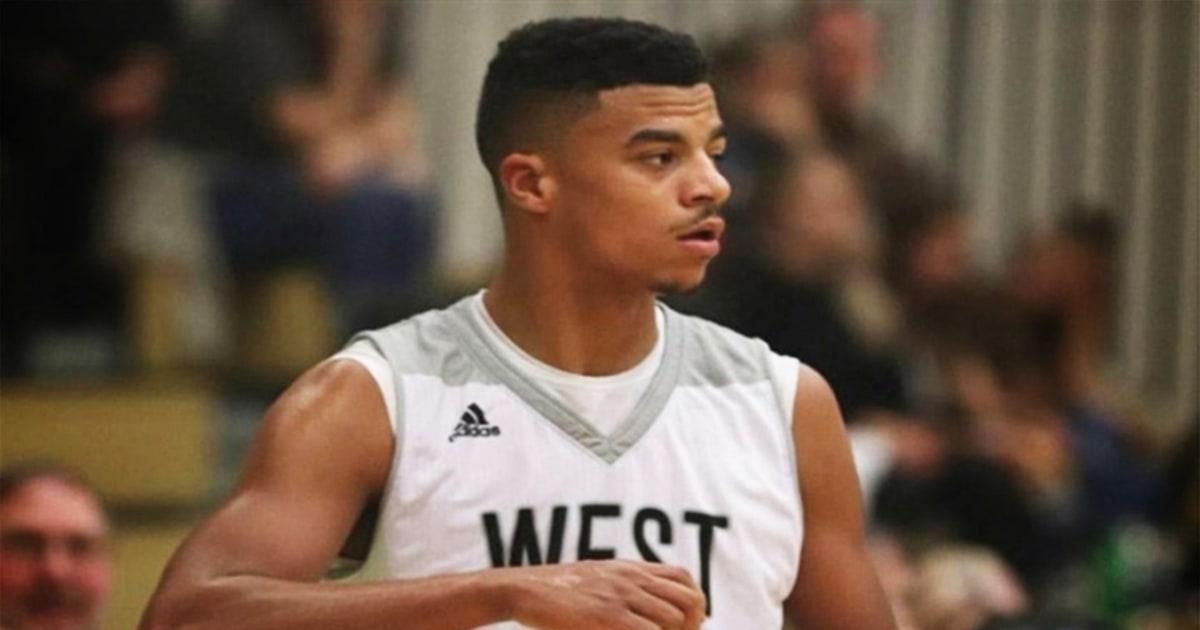 Schwarz West Virginia basketball-Spieler findet Schlinge Zeichnung in der Umkleidekabine