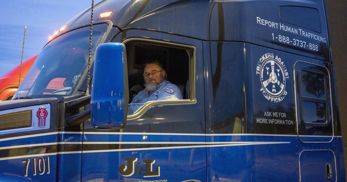 Εκπαίδευση φορτηγατζήδες για να ψάξουν για την εμπορία ανθρώπων βάλει φύλακες της Αμερικής οδοστρώματα