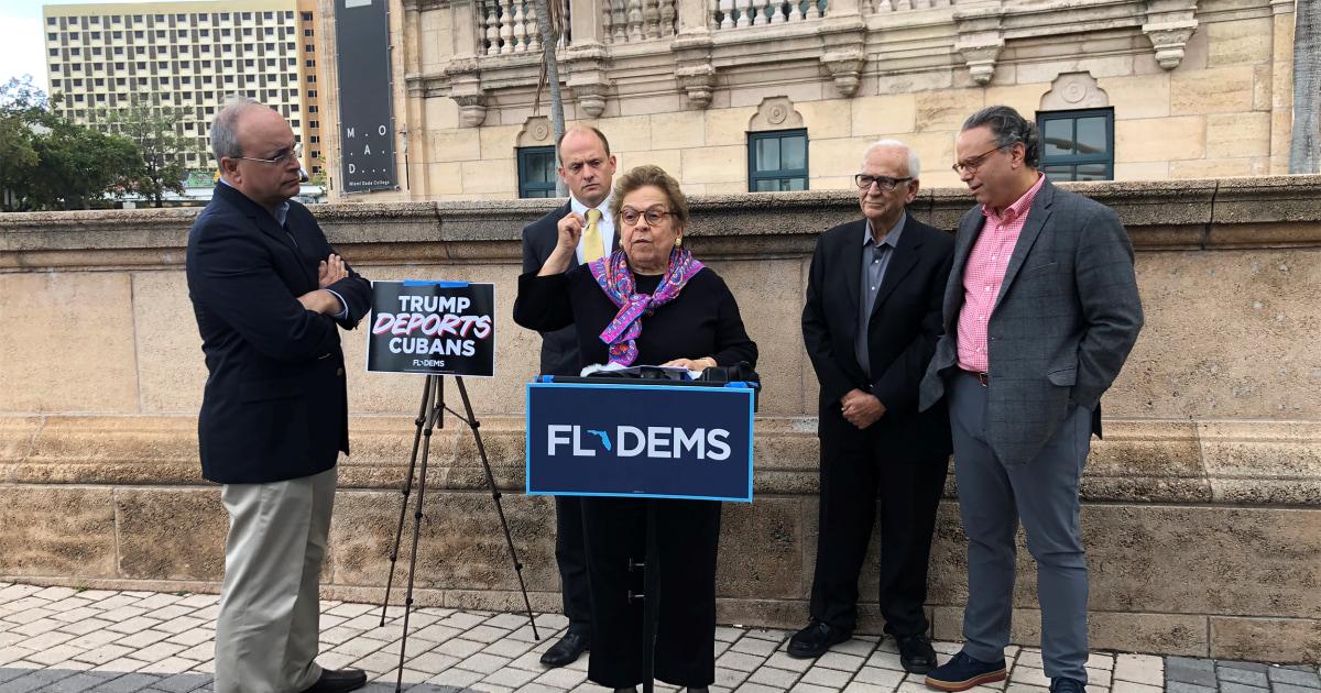 Demokraten-slam-Trumpf auf kubanische, Venezolanische, Nicaraguanische Abschiebungen