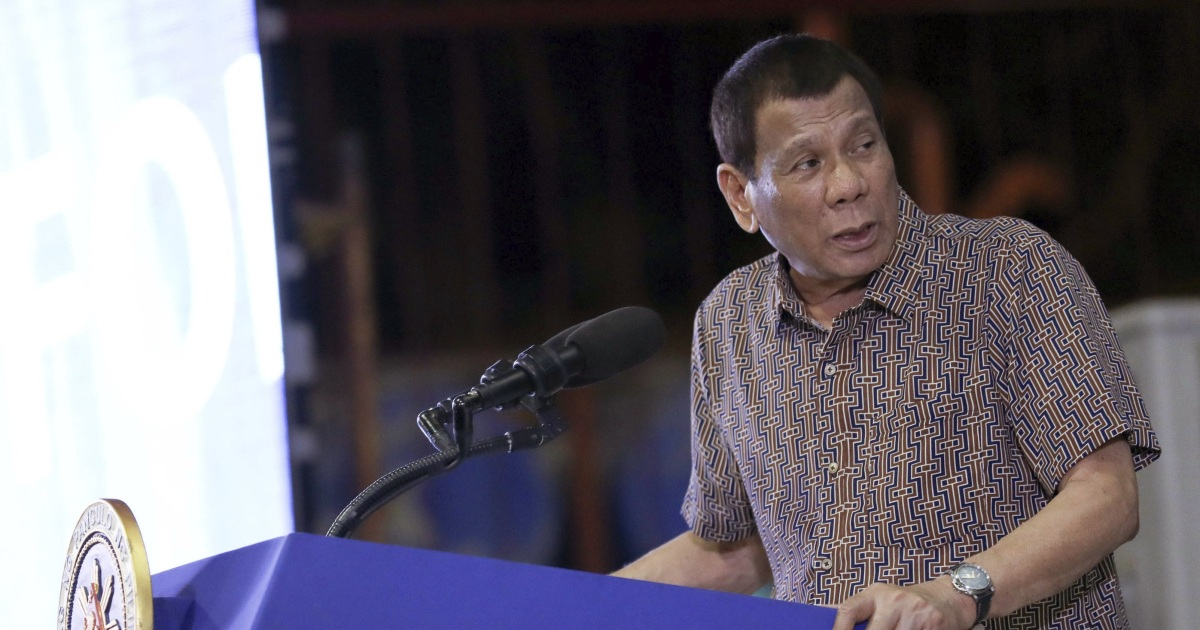 Filipina pemimpin mengancam untuk mengakhiri pakta militer AS di sumpah serapah-laced pidato