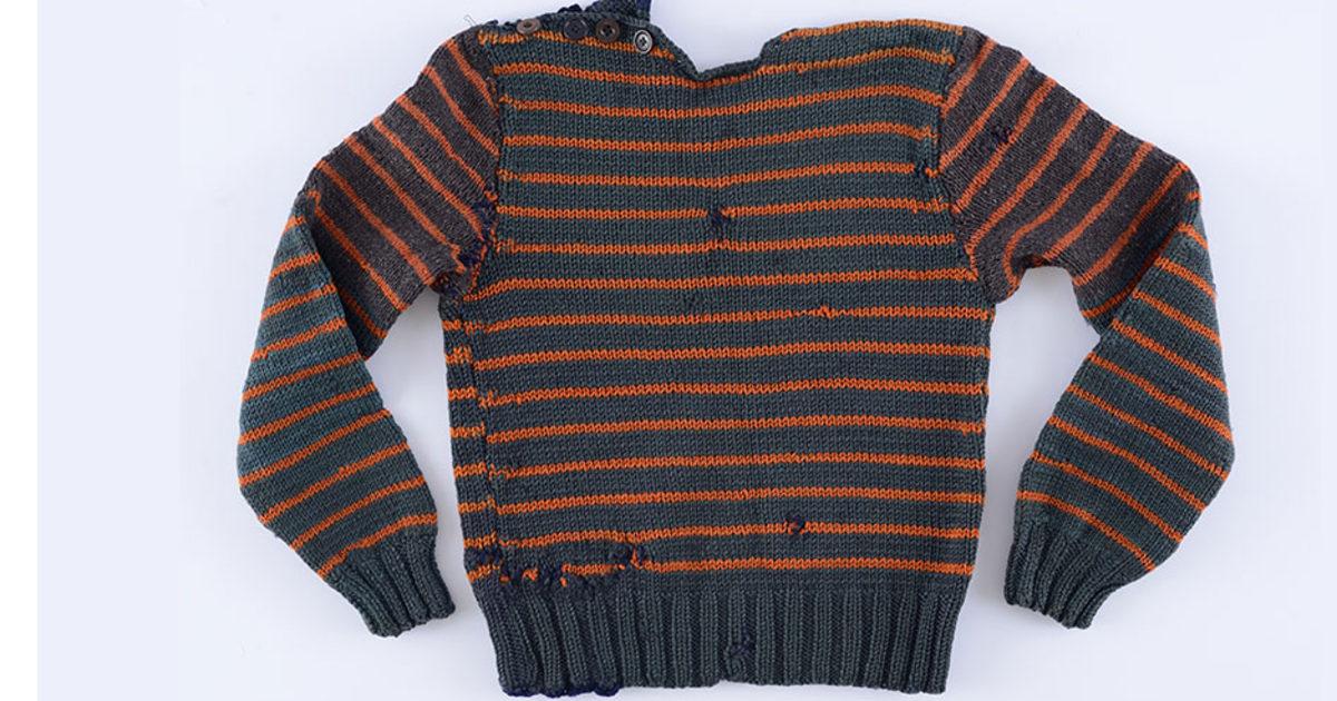 Pullover gestohlen Nazis bewahrt die Erinnerung an den Tod camp