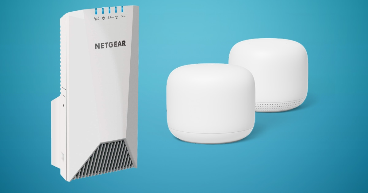 Best mesh Wi Fi systems and range extenders