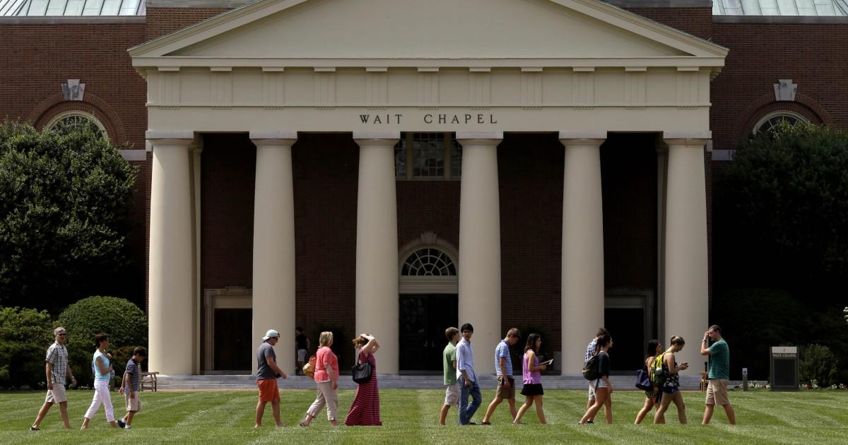Rasis, mengancam email meninggalkan Wake Forest University di tepi