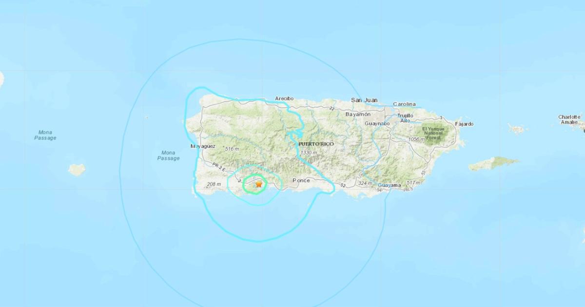 Puerto Rico getroffen, die von einem 5.0 Beben inmitten anhaltenden seismischen Aktivität