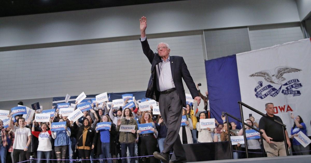 'スダで':民主党組Bernie騰アイオワ