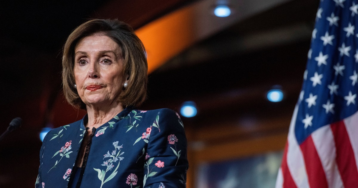 Pelosi: 'Sad' to see McConnell 'humiliate' Roberts at impeachment trial