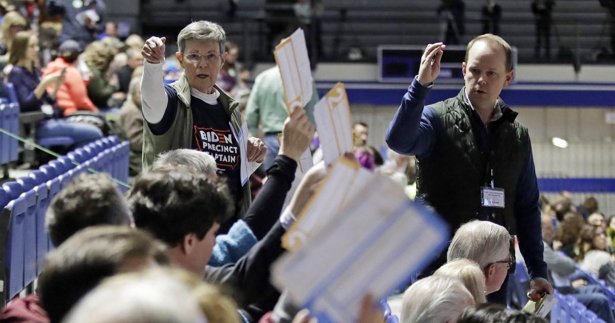 Iowa Democratic caucus-Rennen zu früh zu nennen, nach NBC News