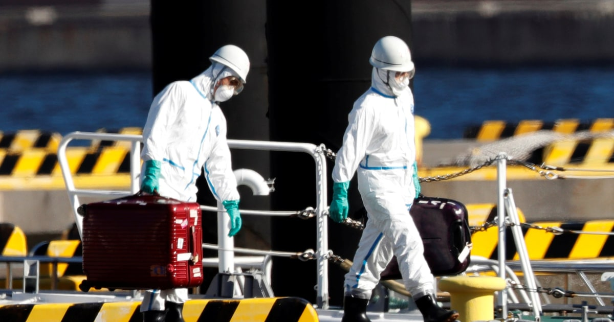 10 coronavirus cases confirmed from cruise ship quarantined in Japan