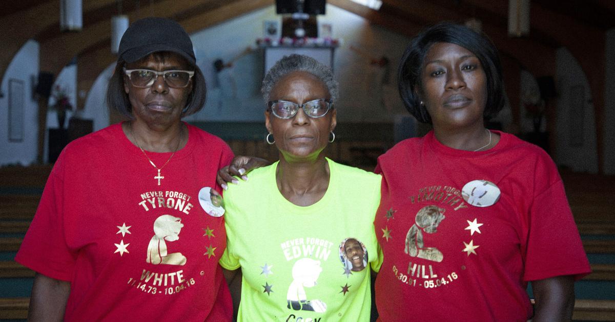 Wer tötete Ihre Kinder? Schwarze Mütter sind entschlossen, zu brechen, eine Kultur des Schweigens