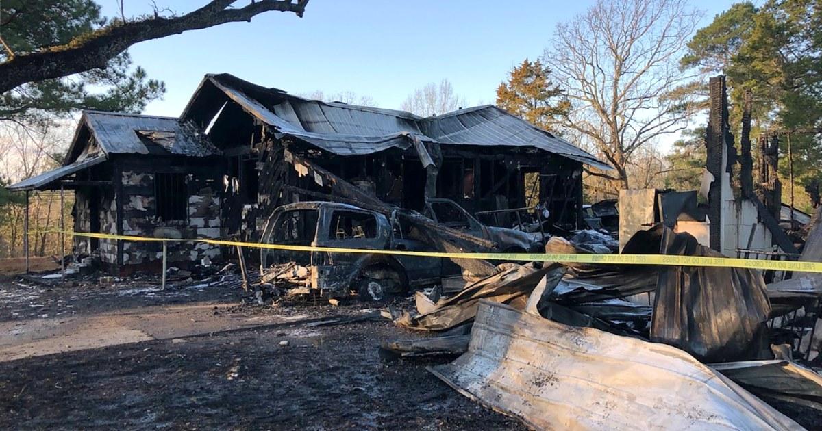 Mutter, Ihre 6 Kinder tötete in Mississippi Haus Feuer