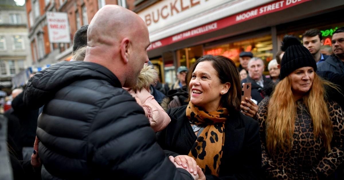 Συνασπισμός συνομιλίες αναμένεται στην Ιρλανδία μετά το Sinn Fein εκλογές το κύμα, το exit poll δείχνουν