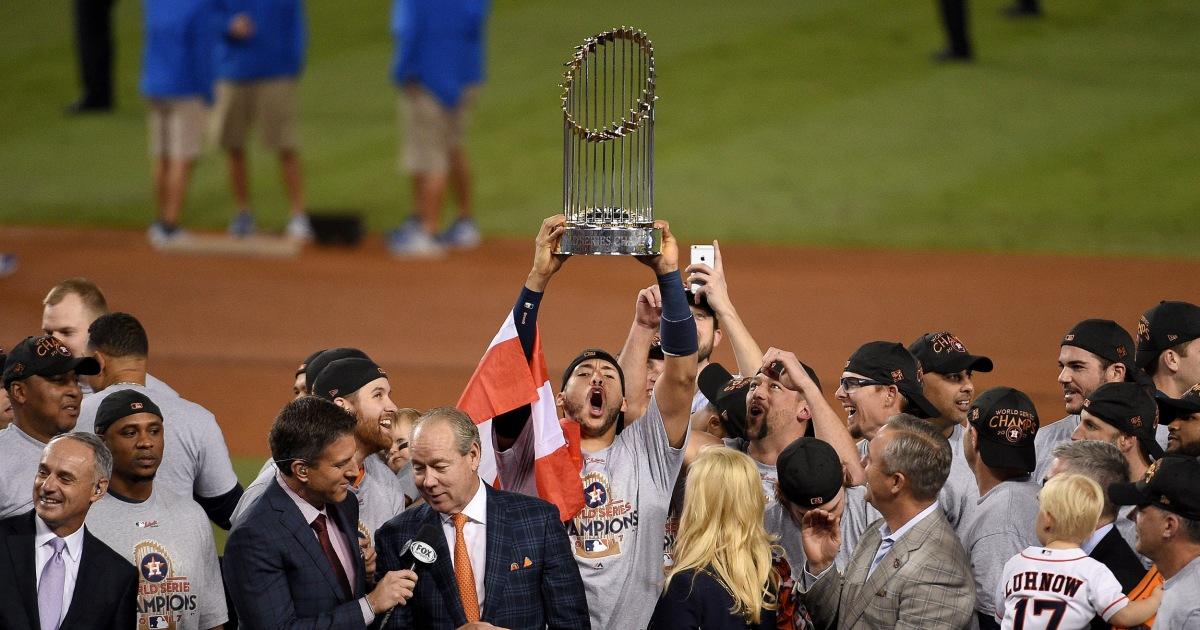 MLB επίτροπος υπερασπίζεται κυρώσεις στο Άστρος το