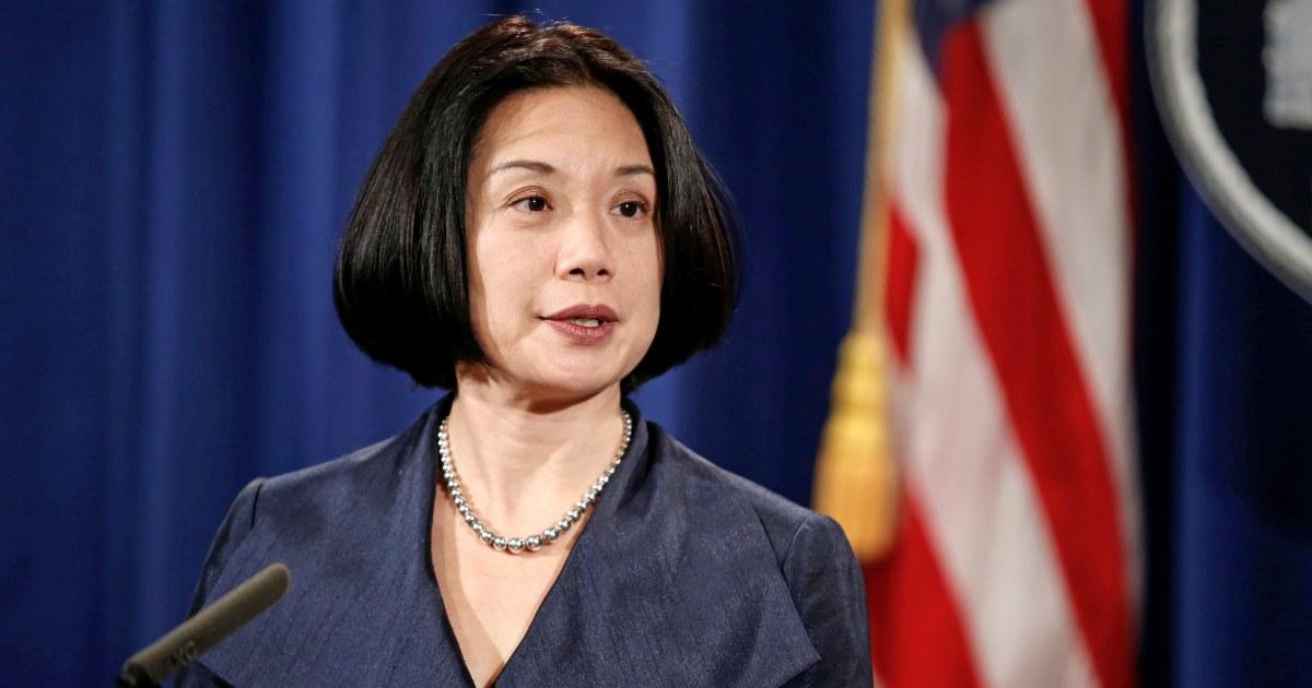 Jessie Liu, ex-US-Anwalt, leitete Roger Stein Fall ist, scheidet aus Trump Verwaltung