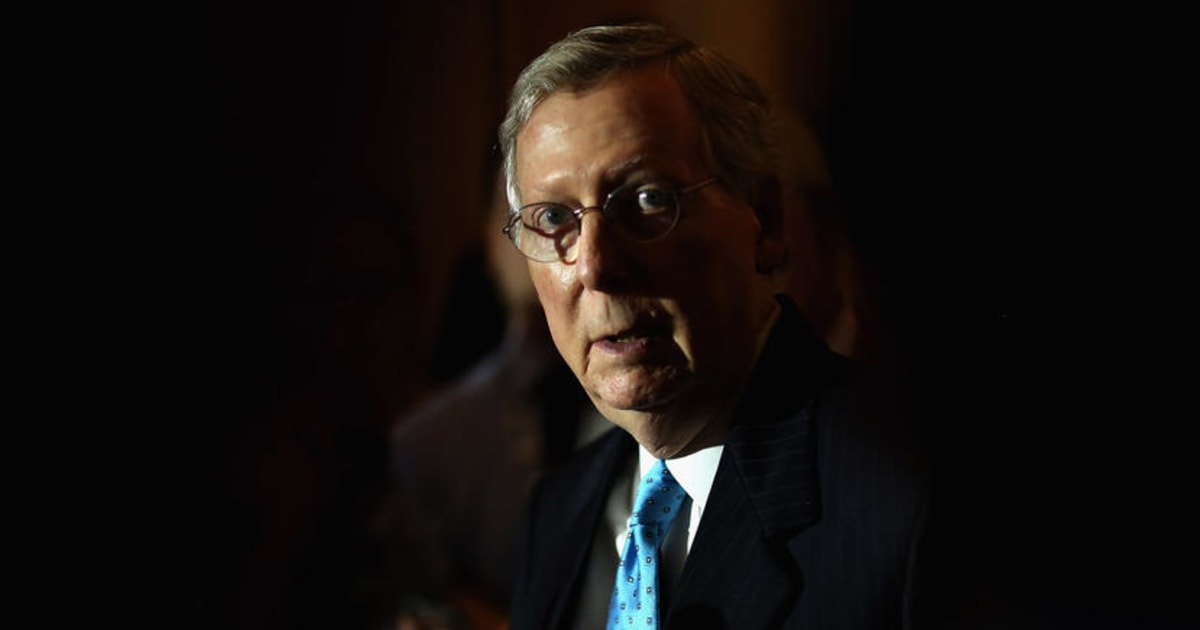 Ignoring his purported principles, McConnell would fill SCOTUS vacancy