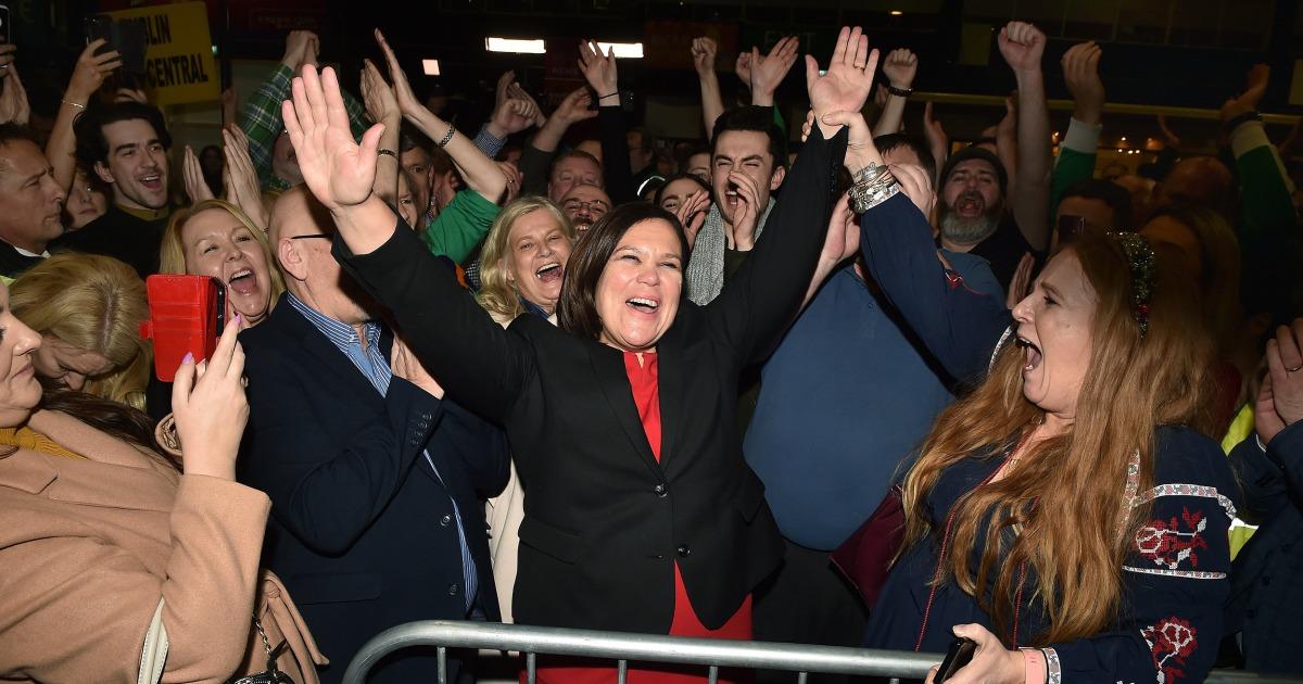 Die irischen Wahlen zeigen ein Generationen-split der älteren Parteien können nicht ignorieren,