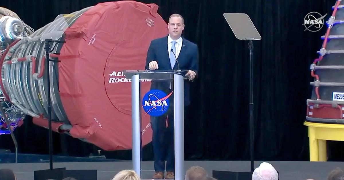 トランプを求$25億NASAのための予算2021年に向け月や火星の目標