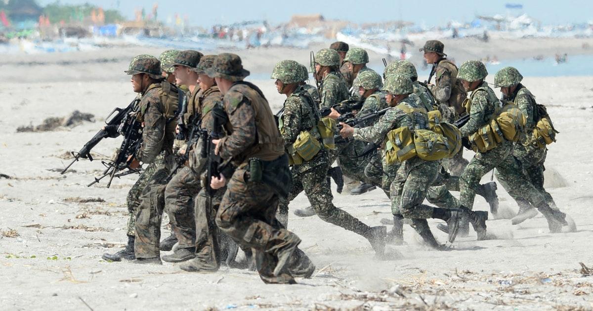 Φιλιππίνες ΜΑΣ ειδοποιεί πρόθεση για τον τερματισμό μείζονα ασφάλεια σύμφωνο