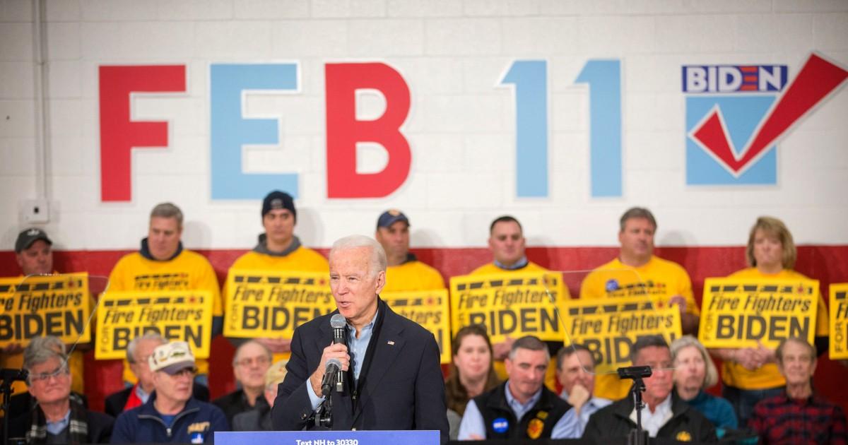 NBC News proyek Joe Biden menang di negara bagian Washington primer
