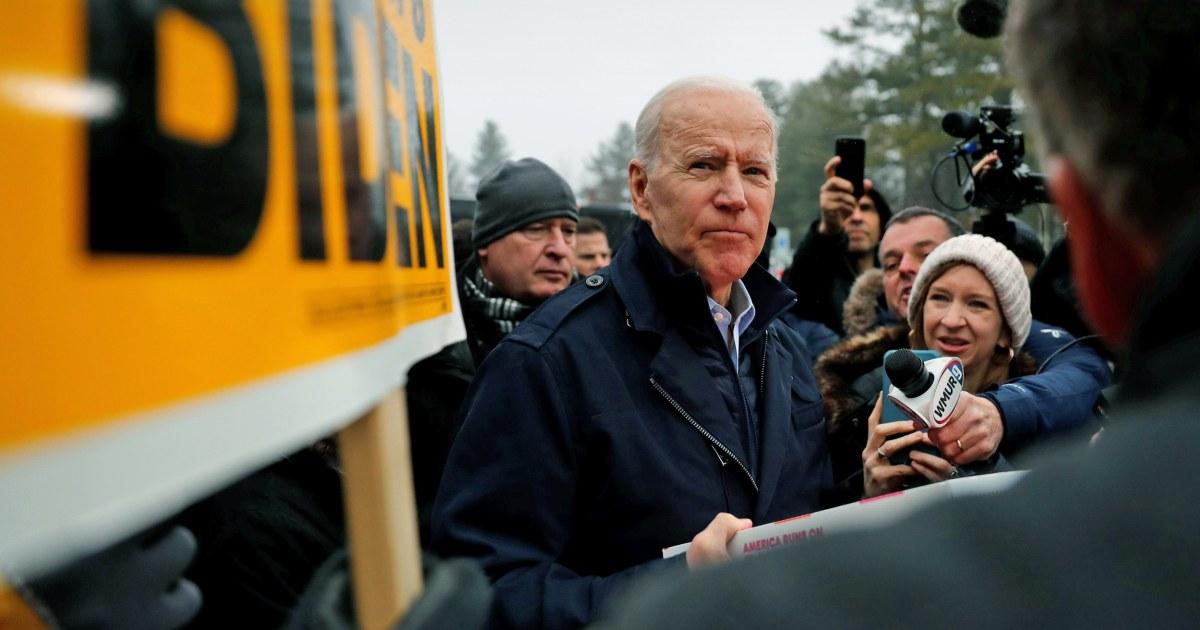 Top Biden Berater fordert Ruhe: 'Riesige Menge von hyperventilierenden draußen'