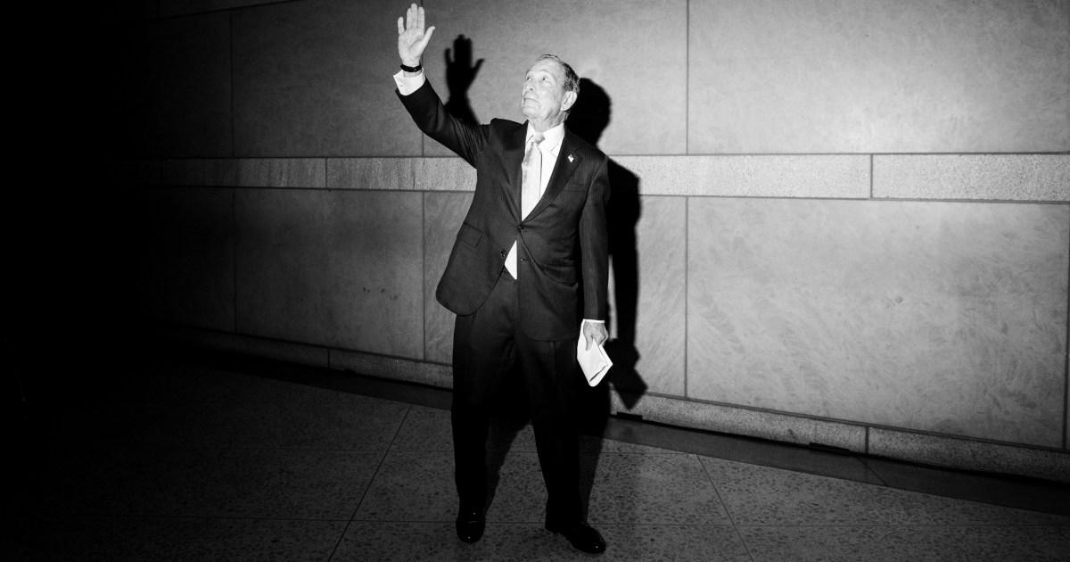 Bloomberg καταιγίδες στο κέντρο του 2020 προεδρικό συμπλοκή