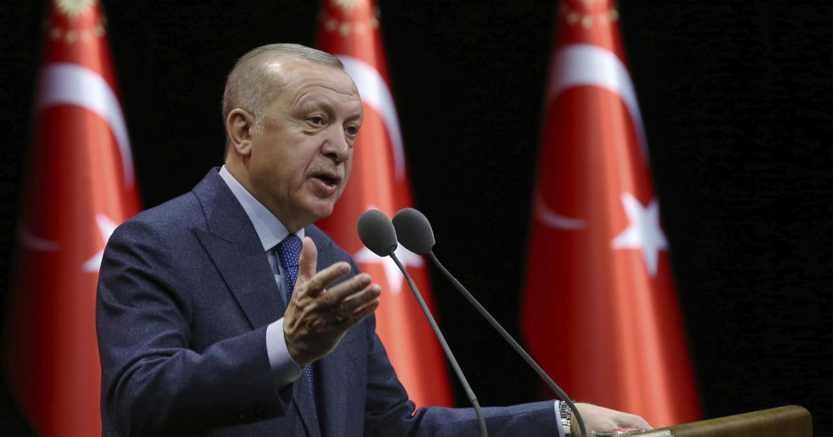 トルコのErdogan警告の爆シリアを超えてIdlib場合軍の痛みが