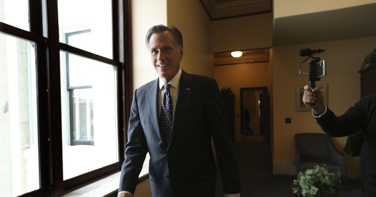 ユタ州議員が中止に努めの記憶では、censureロムニー候補上ラimpeachment投票