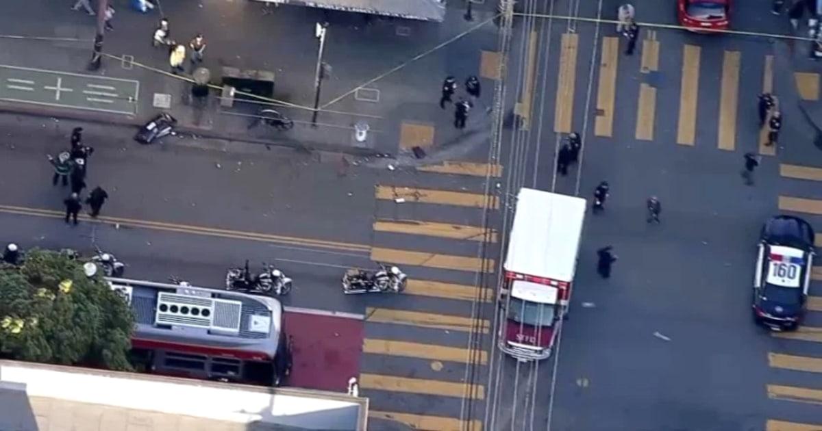 Fußgänger schlug mit dem Auto in San Francisco ' s Mission District