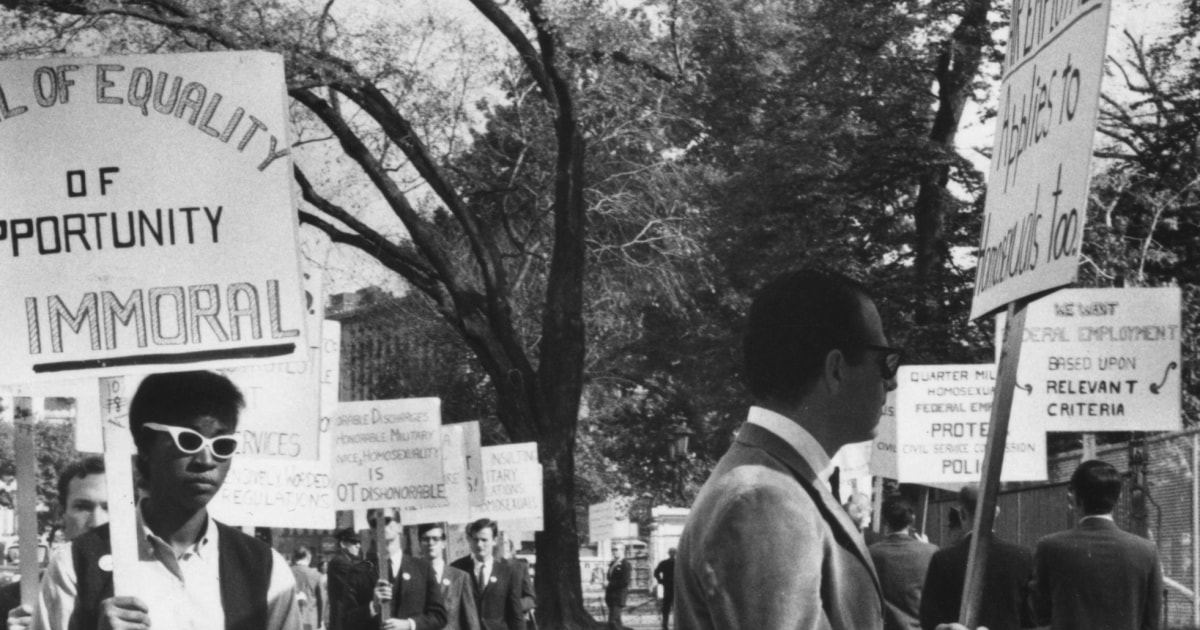 Business news  news latest news  business updates Different fight, 'same goal': How the Black freedom movement inspired early gay activists thumbnail