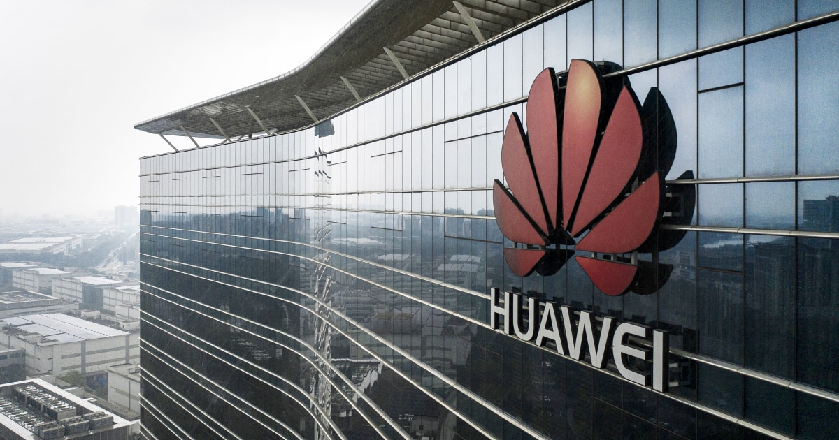 U.S. says Chinese telecom giant Huawei did business with Iran, North Korea
