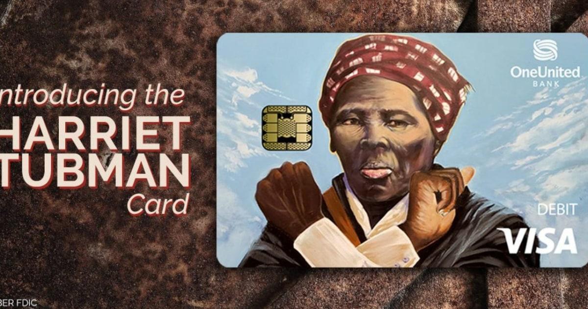 Ist, dass Harriet Tubman auf eine bank EC-Karte, warf einen Wakanda begrüssen?