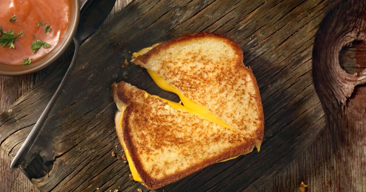Einen besseren Weg, um die Käse überbacken