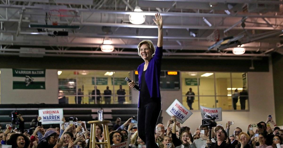Warren Wetten auf eine riskante pitch: Demokratische Einheit