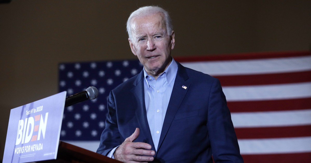 200215 joe biden mn 1517 4b75f7af6b205d5e83d1debcdf0dc54b.nbcnews fp 1200 630 - Biden calls on Sanders to take accountability for supporters' threats