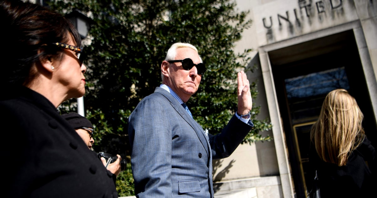 Judge to proceed with Roger Stone's sentencing, will consider motion for new trial