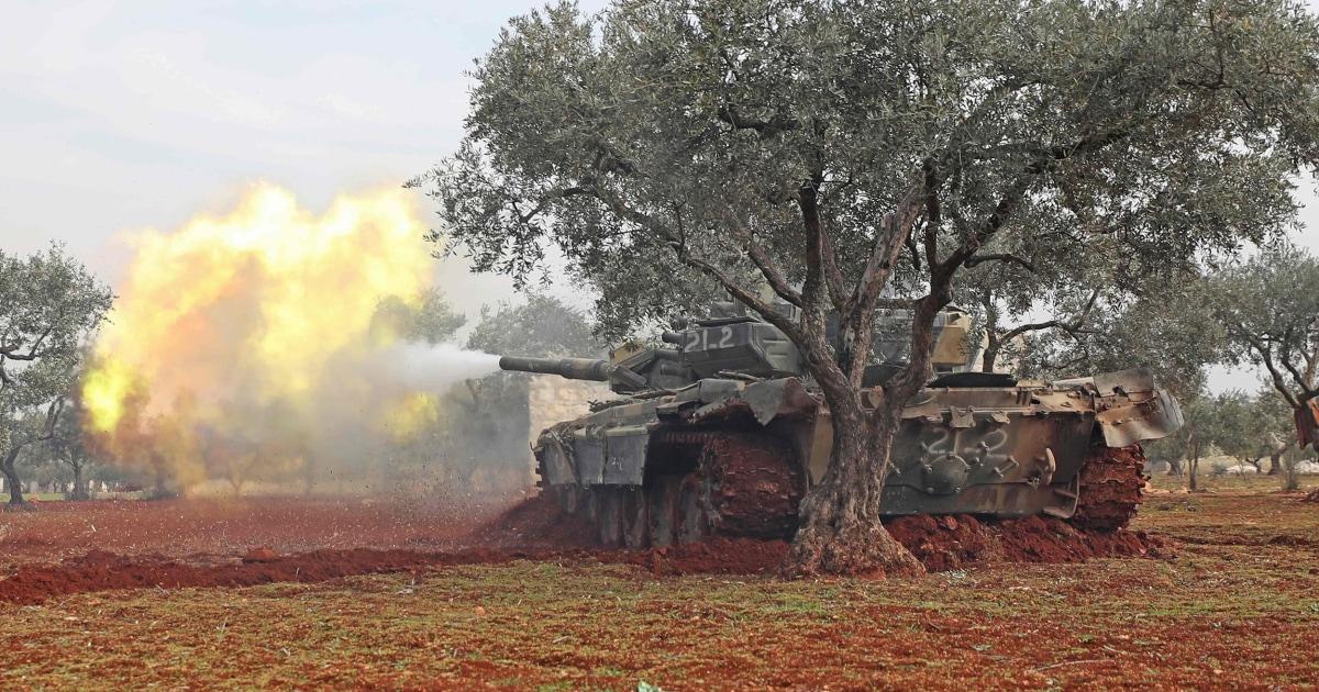 Die syrischen Truppen ergreifen die meisten der Aleppo-Provinz, am Vorabend des Türkei-Russland-Gespräche