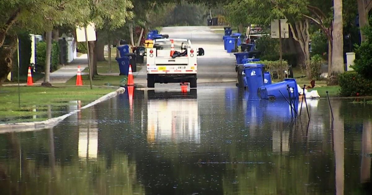 Πάνω από 211 εκατομμύρια γαλόνια λυμάτων που έχει χυθεί σε Fort Lauderdale οδούς
