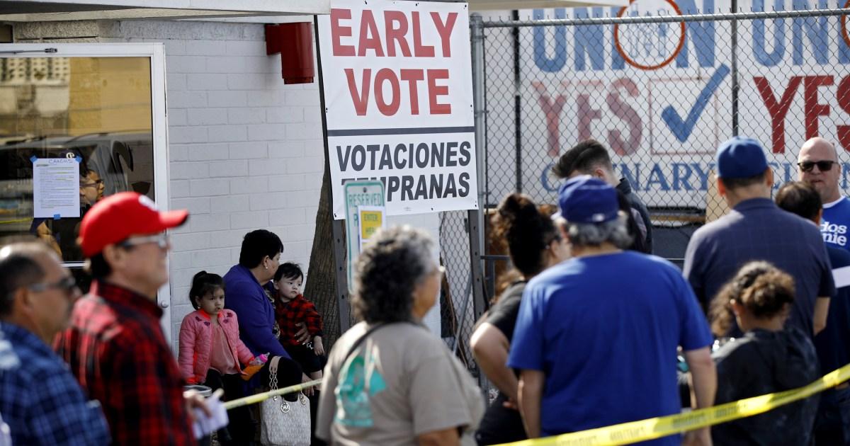 Biden, Sanders gebunden für die Unterstützung von Nevada Latino-Wähler, Telemundo Umfrage findet