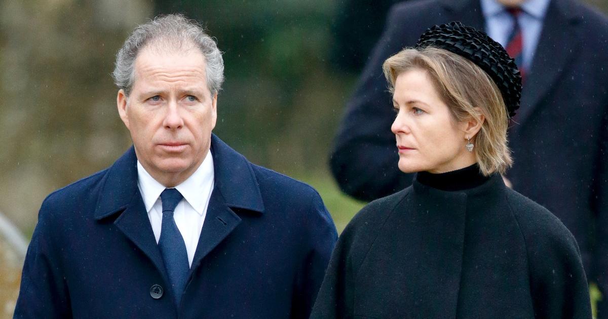 Η βασίλισσα Ελισάβετ ανιψιός του, ο Κόμης του Snowdon, και η γυναίκα του ανακοινώσει τα σχέδια για το διαζύγιο