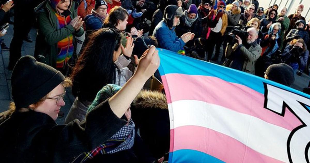 Island-Aktivisten versuchen, stoppen Sie die Abschiebung der iranischen trans teen