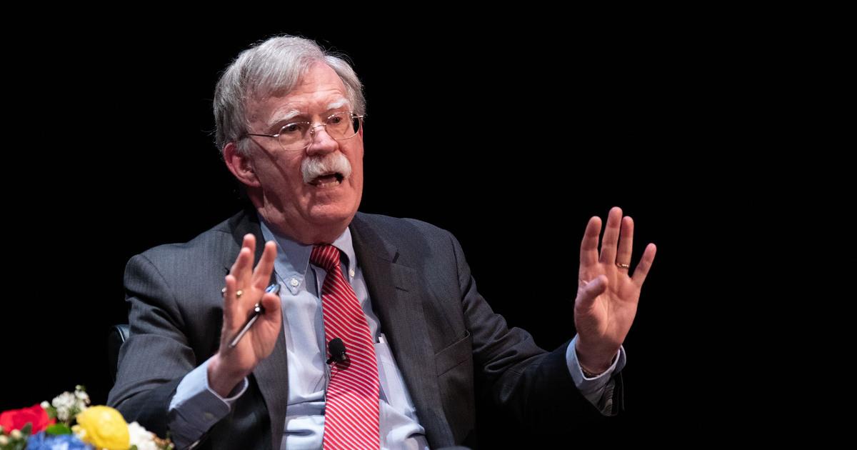 Bolton bestreitet seine Amtsenthebung Aussage hätte verändert das Ergebnis