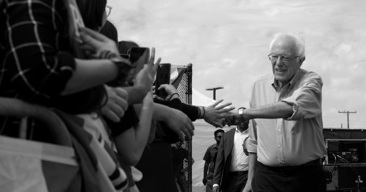 Sanders fährt auf Super-Dienstag delegieren haul