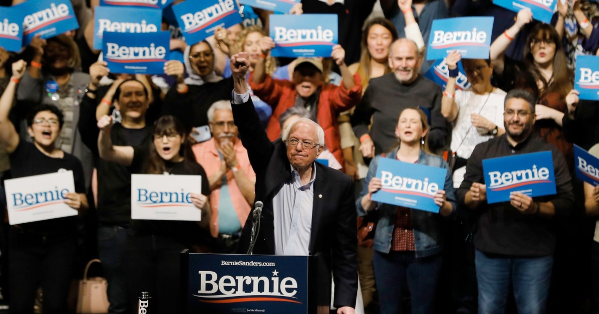 Sanders wins Nevada Democratic caucuses with wave of young, Latino voters