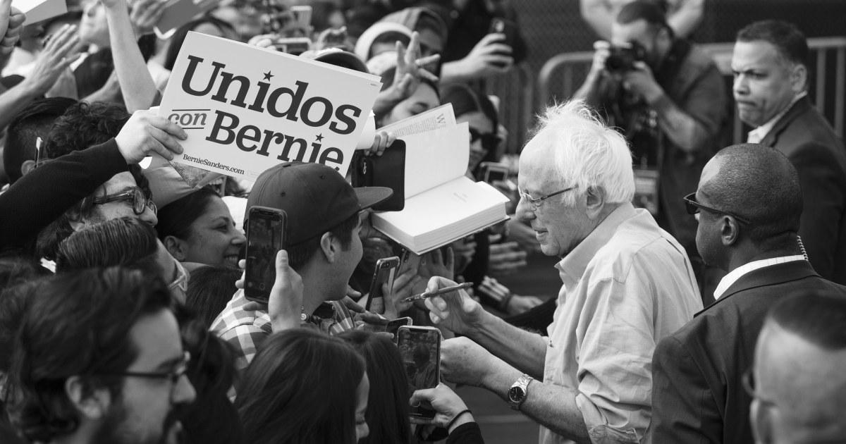 Όχι μόνο bros: Sanders νίκες με διαφορετικές συνασπισμού