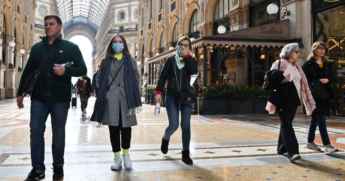 Dow ditutup turun 1,000 poin coronavirus ketakutan slam Wall Street