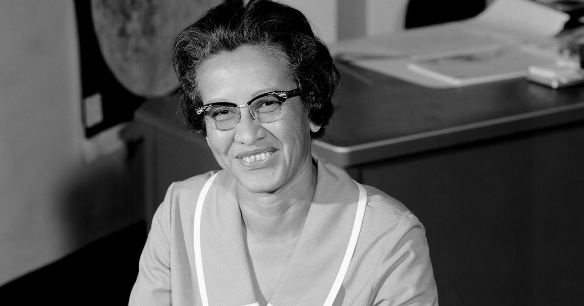 Katherine Johnson, NASA-Mathematiker, dargestellt in