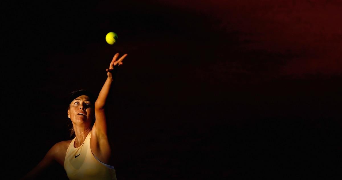 Tenis besar Maria Sharapova pensiun dari olahraga yang membuat ikon