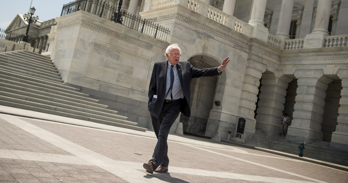 Bernie Sander image as a left - wing purist belied by record of compromise