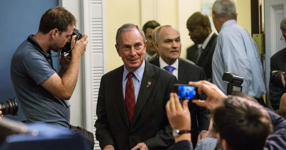 Bloomberg says he nearly eliminated stop-and-frisk as mayor. But he fought for it to the end.